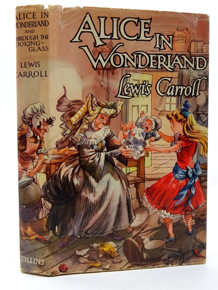 Alice's Adventures in Wonderland, and Through the Looking-Glass by Lewis Carroll, illustrated by A. H. Watson - 1960 edition