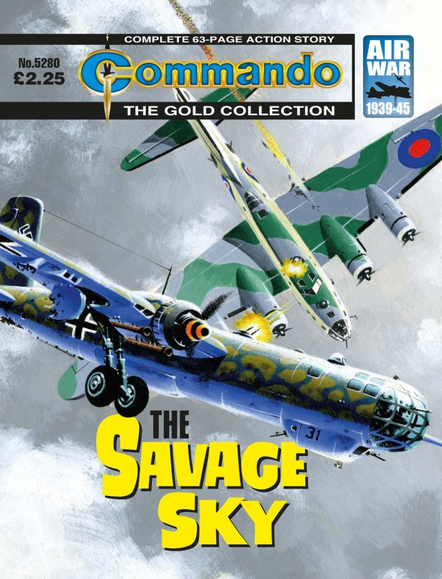 Commando 5280 - Gold Collection: The Savage Sky