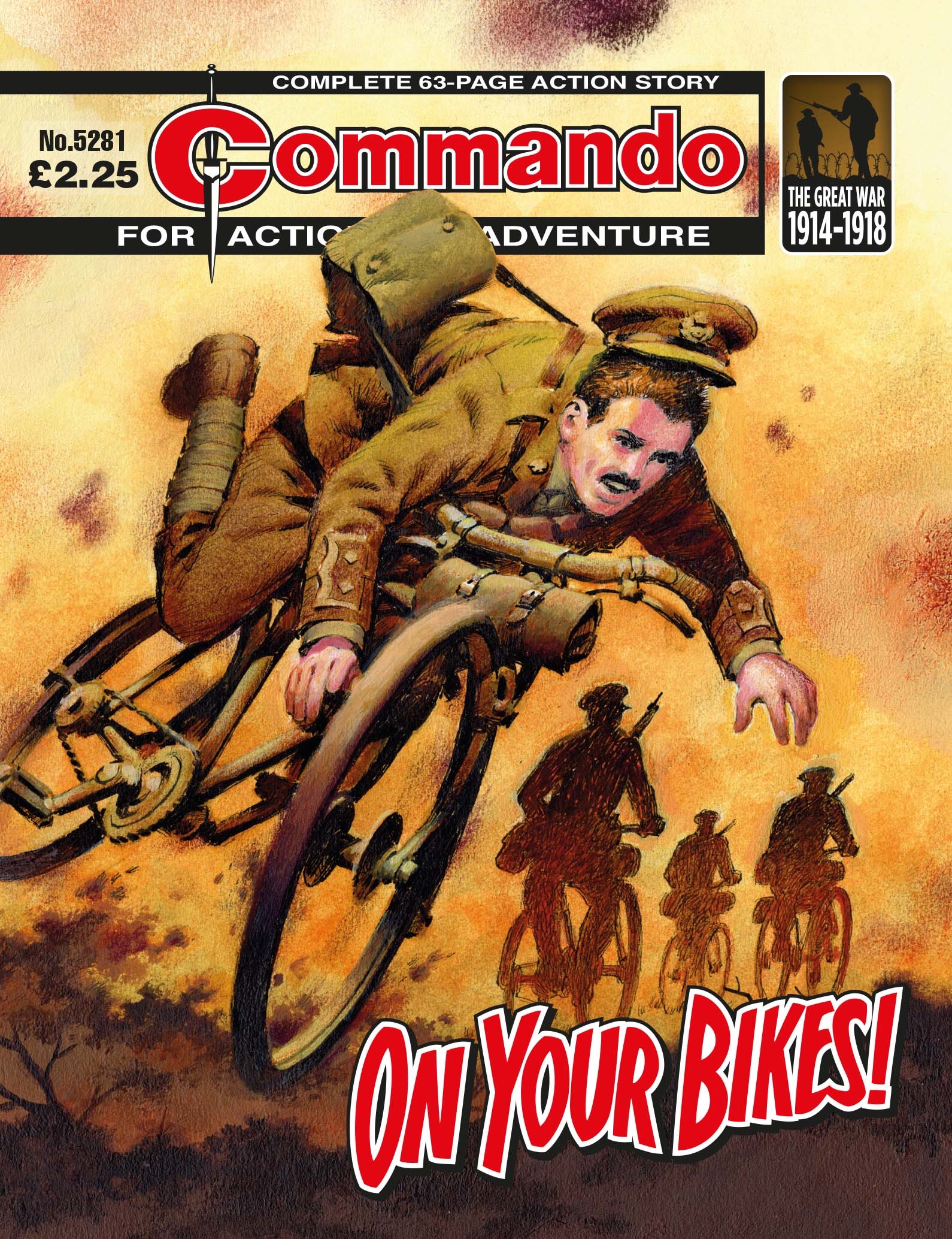 Commando 5281 - Action and Adventure: On Your Bikes!