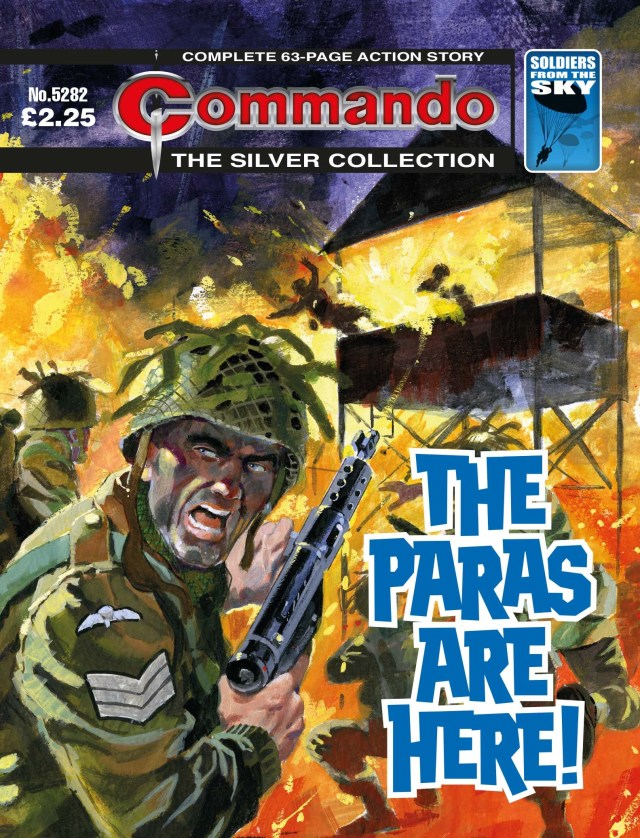 Commando 5282 - Silver Collection: The Paras Are Here!