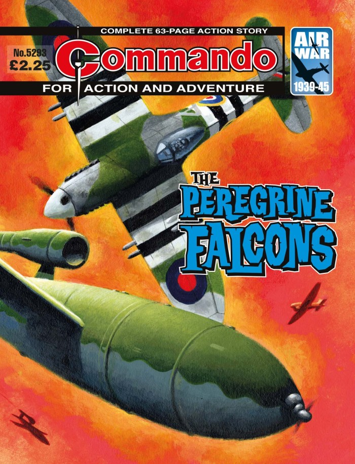 Commando 5293: Action and Adventure: The Peregrine Falcons