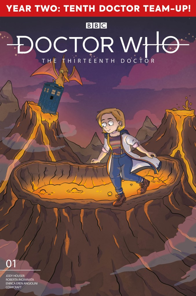 "Doctor Who: The Thirteenth Doctor ""Season 2"" #1 Cover E by Sarah Graley"