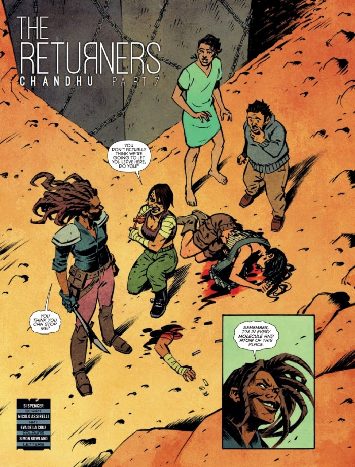 Judge Dredd Megazine Issue 415 - The Returners - Chandhu