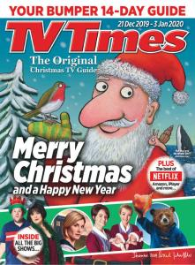 TV Times' Christmas Double Issue 2019  by Axel Scheffler