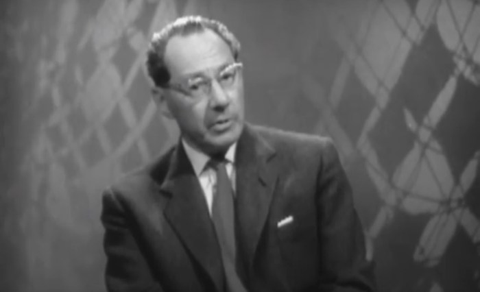 John Wyndham on the BBC - broadcast 6th September 1960