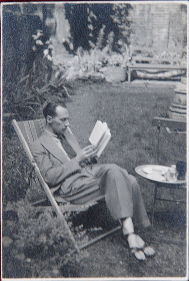 A photograph of John Wyndham published in Hidden Wyndham: Life, Love, Letters