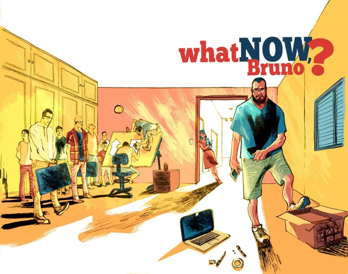 What Now, Bruno? An independent project by Bruno Oliveira