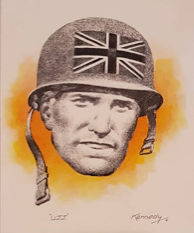 Recent Union Jack Jackson art by Ian Kennedy
