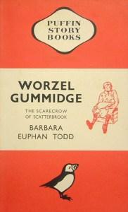 Puffin's 1941 edition of Worzel Gummidge by Barbara Euphan Todd, illustrated by Elizabeth Alldridge