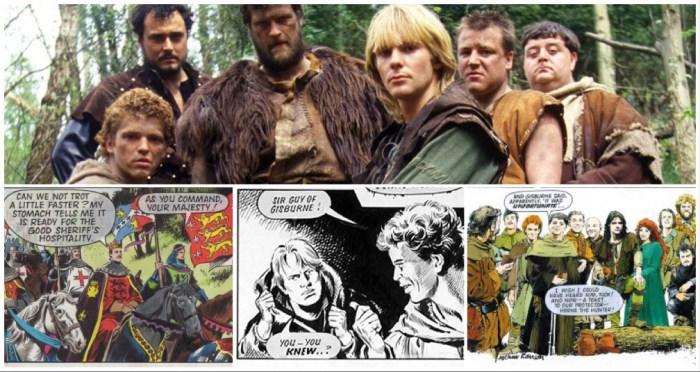 Robin of Sherwood Montage