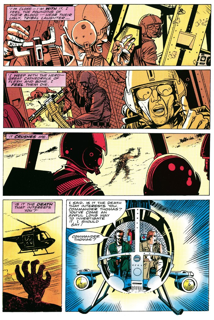 For me, this scene from Knights of Pendragon #2 remains as powerful and as memorable as it was when first published back in 1990
