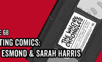 Lakes International Comic Art Festival Podcast Episode 68: Tony Esmond & Sarah Harris