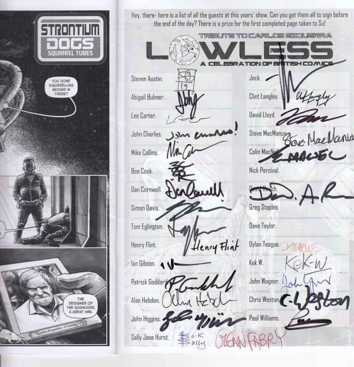Lawless 2019 Convention Booklet - Signed