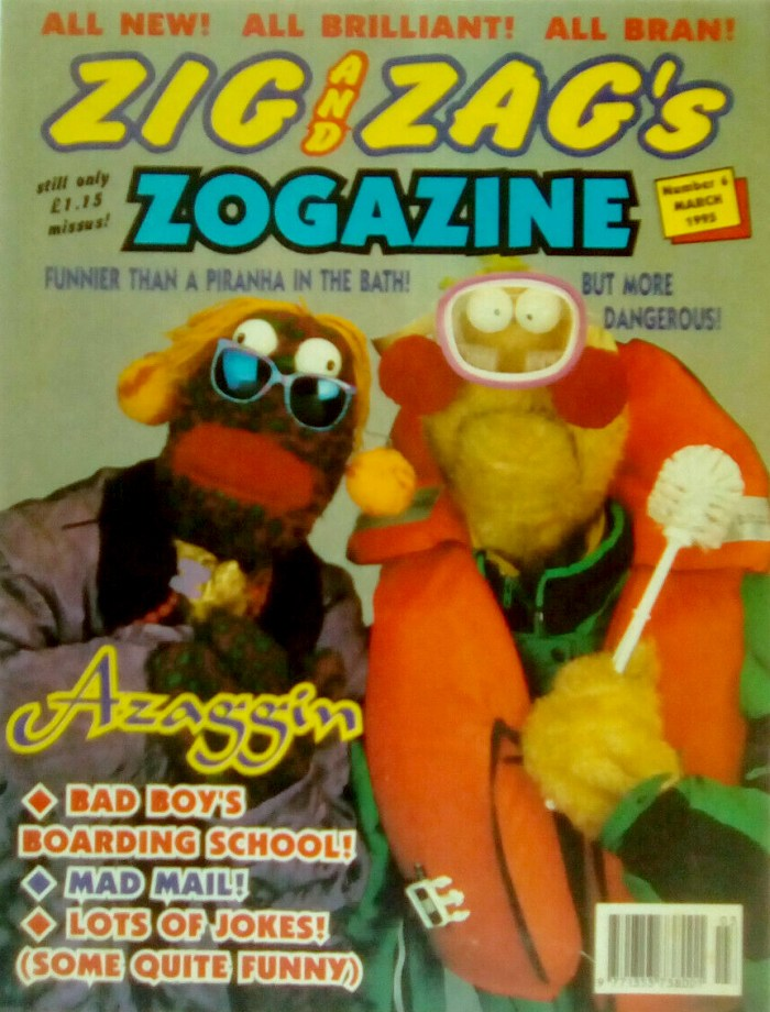 Zig and Zag's Zogazine - Issue #6 (Fleetway Editions Ltd), March 1995