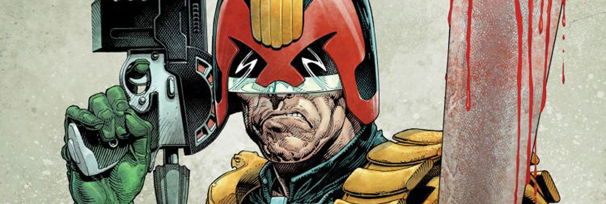 43 Years Young, 2000AD cracks on with action, adventure and, of course mayhem!
