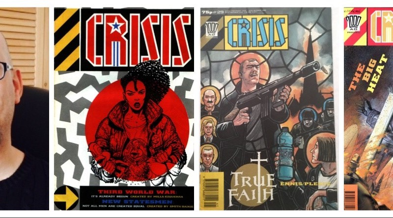 Academic Study of Fleetway's CRISIS comic in the works