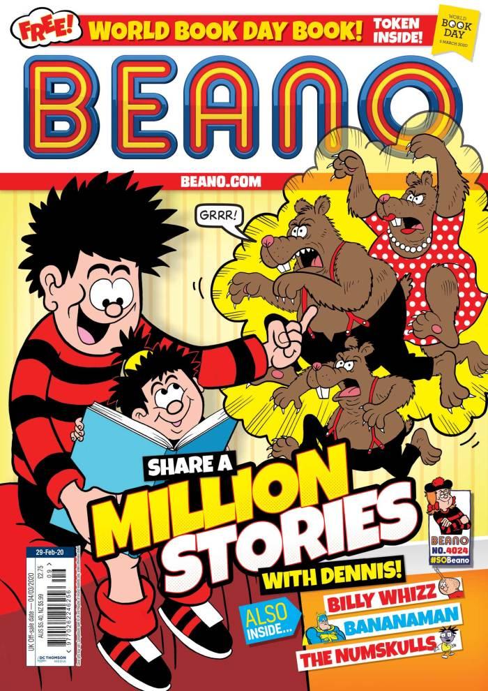 Beano 4024 - Cover (2020) - World Book Day
