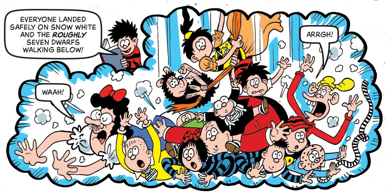 """""""The Three Bears"""" cameo as Beano partners with World Book Day to Share a Million Stories"""