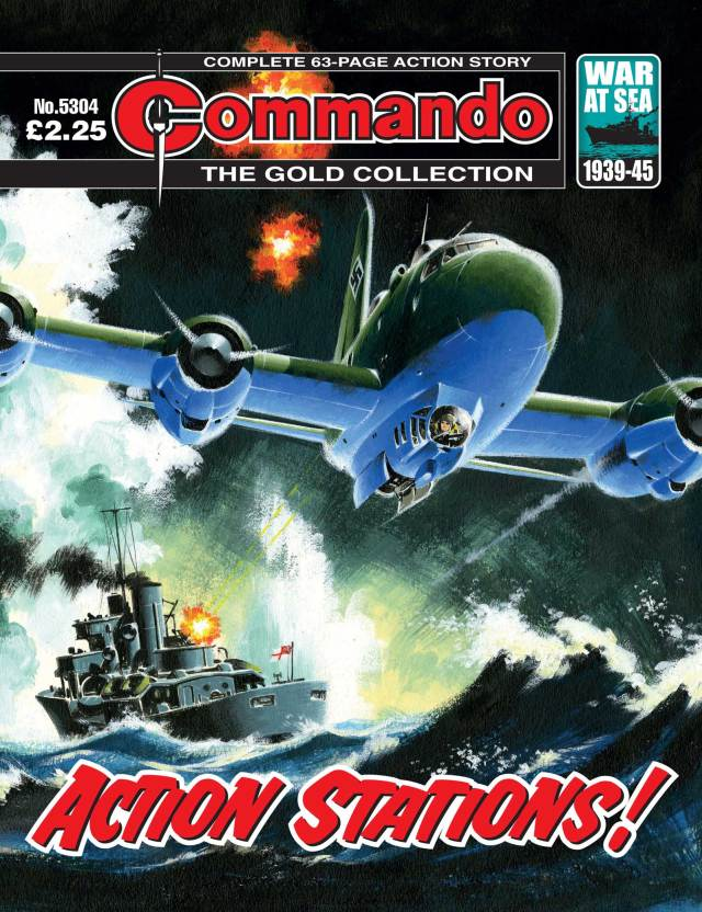Commando 5304 - Gold Collection: Action Stations!