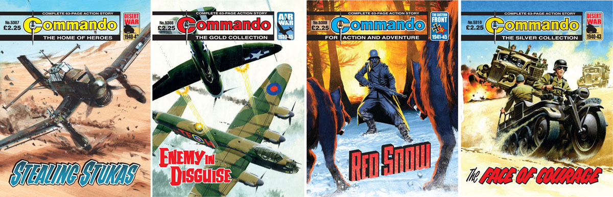 Terror on World War Two's Eastern Front! All-new Commandos out this week