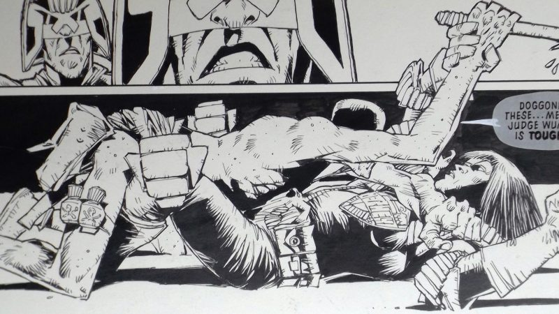 Collecting Comic Art: An Interview with 2000AD art collector Robert Cox