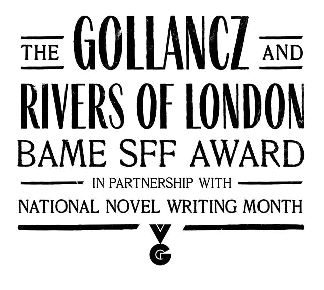 Gollancz and Rivers of London BAME SFF Award
