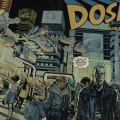 DOSE #1 Variant Cover by John Gebbia (wrap-around) - Cover B