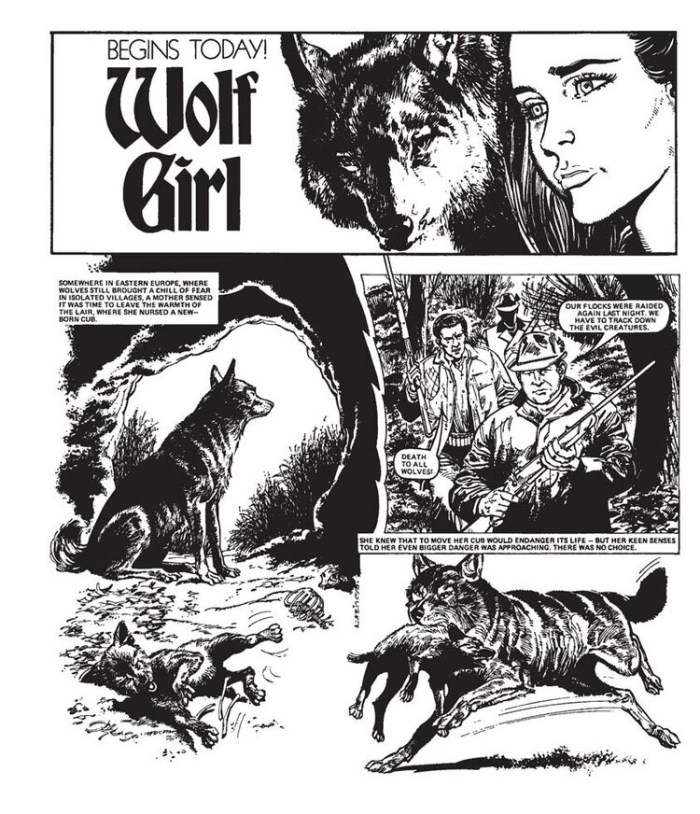 Misty: The Wolf Girl, collected in Misty Volume 3: Wolf Girl & Other Stories