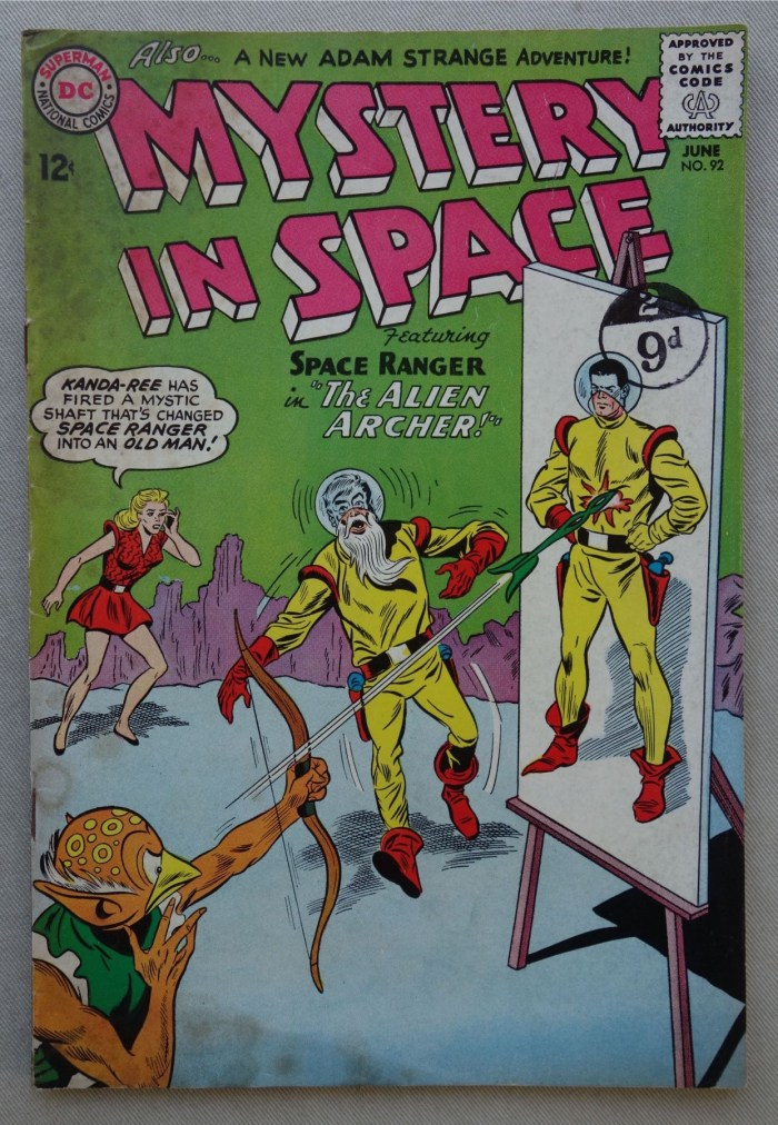 Mystery in Space #92 - June 1964