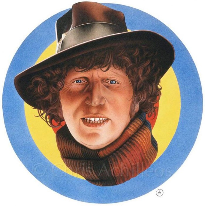 Doctor Who - The Fourth Doctor by Chris Achilléos