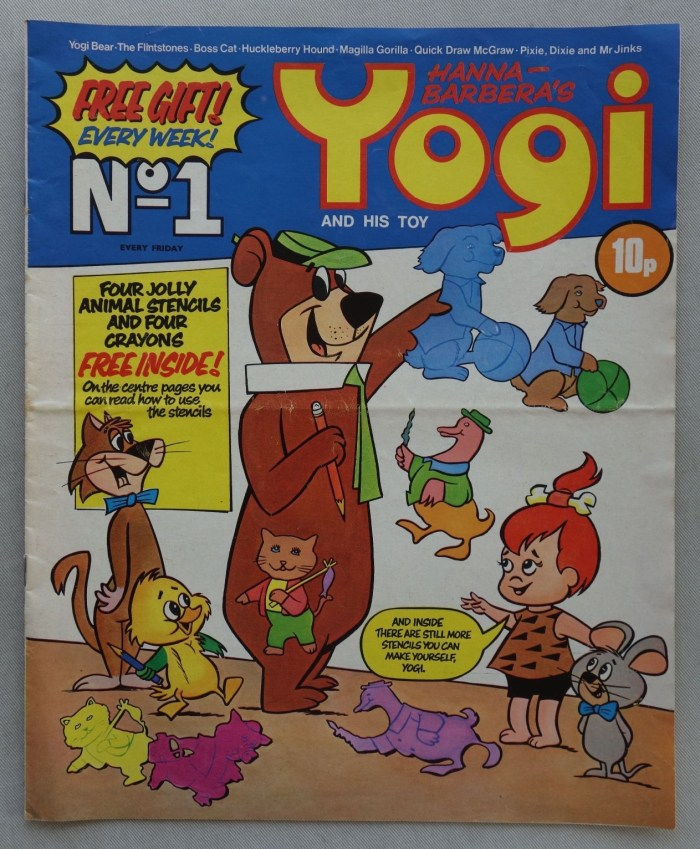 Yogi and his toy No. 1 (1972)