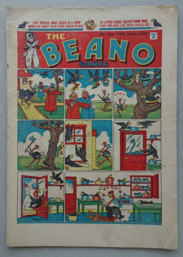 The Beano 304, cover dated 22nd February 1947
