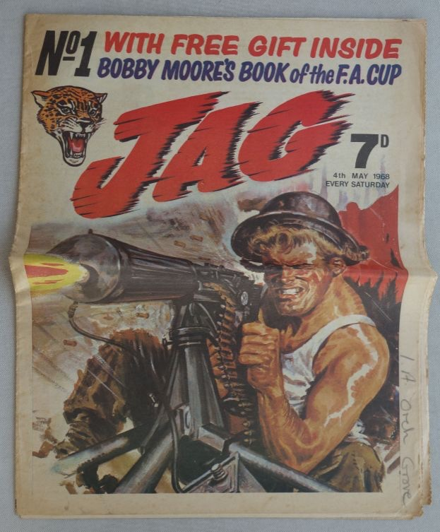 JAG No. 1, cover dated 4th May 1968