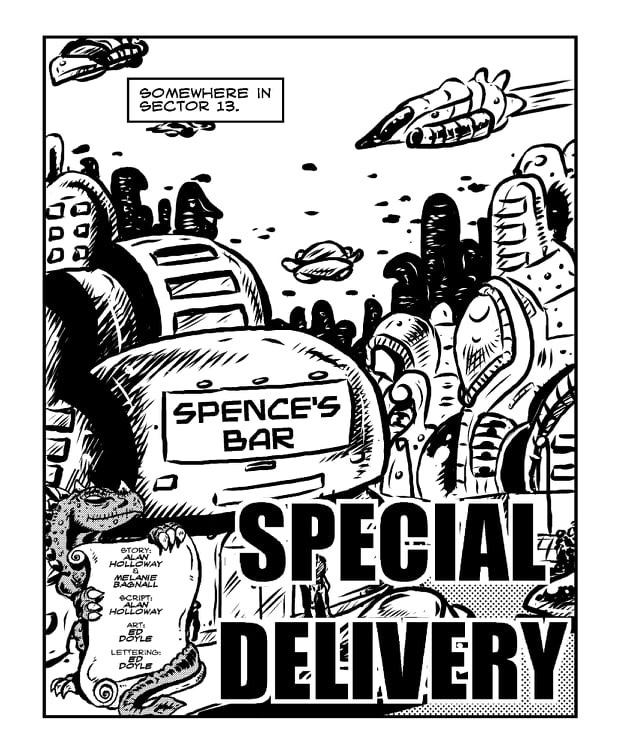 Sentinel Issue One: Special Delivery - Sample Page