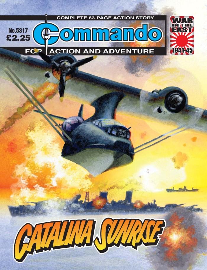 Commando 5317: Action and Adventure - Catalina Sunrise
