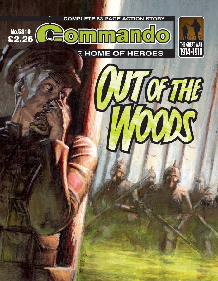 Commando 5319: Home of Heroes - Out of the Woods