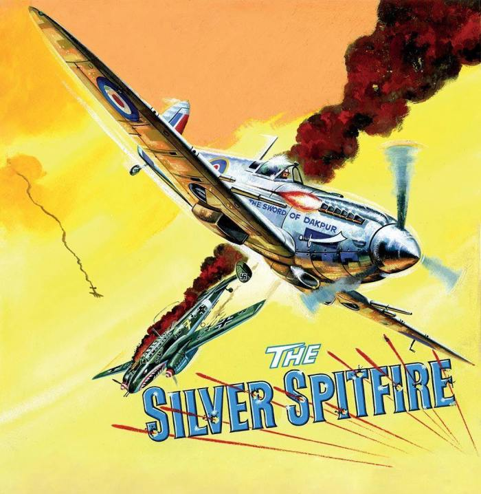 Commando 5320: Gold Collection - The Silver Spitfire - Full Cover