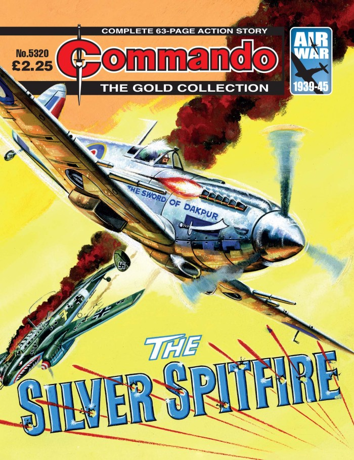 Commando 5320: Gold Collection - The Silver Spitfire
