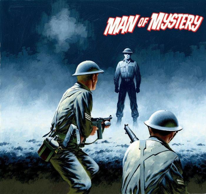 Commando 5322: Silver Collection: Man of Mystery - Full Cover