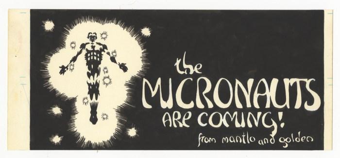 Michael Golden's Micronauts Artist's Edition Sample Art