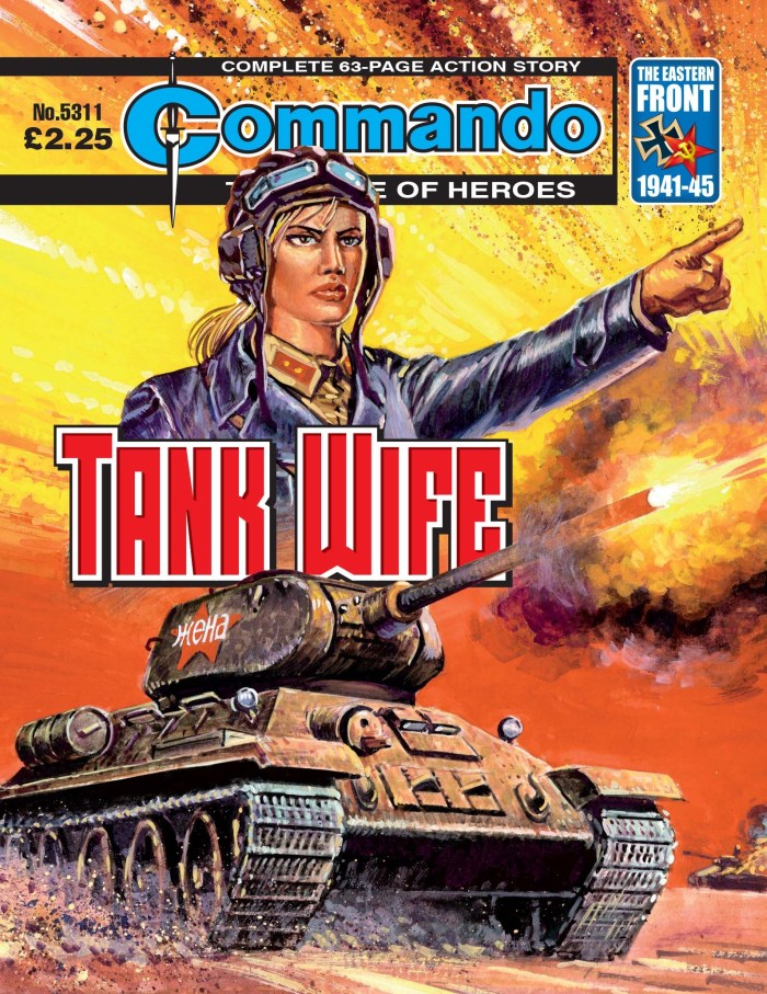 Commando 5311: Home of Heroes - Tank Wife