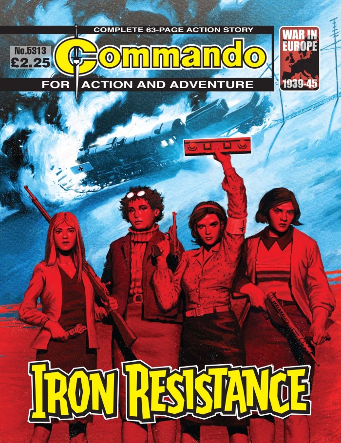 Commando 5313: Action and Adventure - Iron Resistance