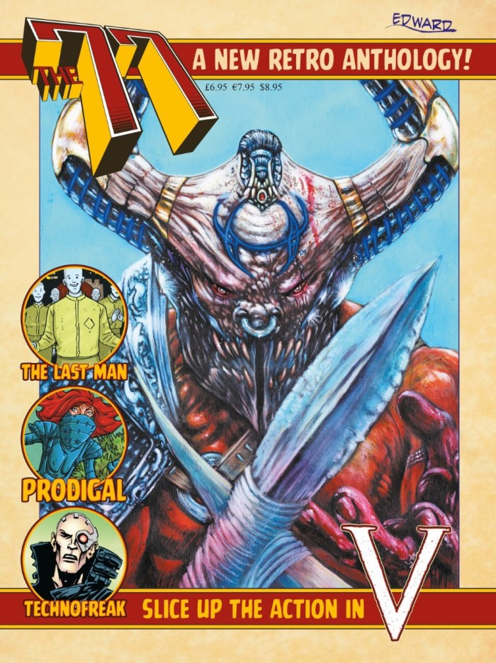 The77 #1 - Final Regular Cover by Ade Hughes