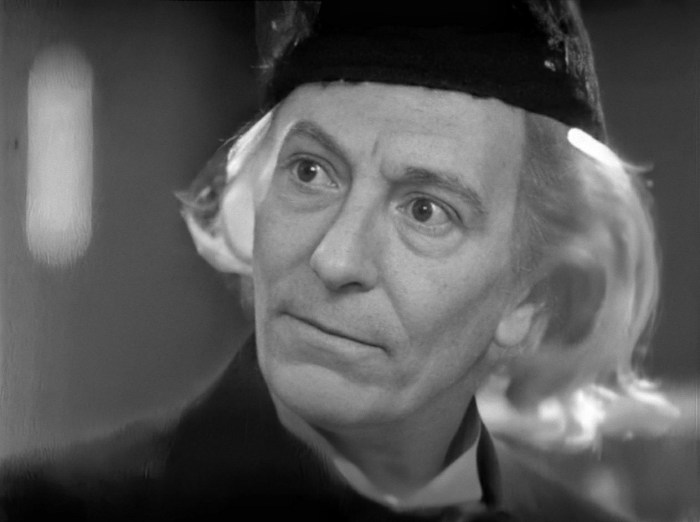 Doctor Who - An Unearthly Child 4K Upscale via Pip Madeley. Doctor Who copyright BBC