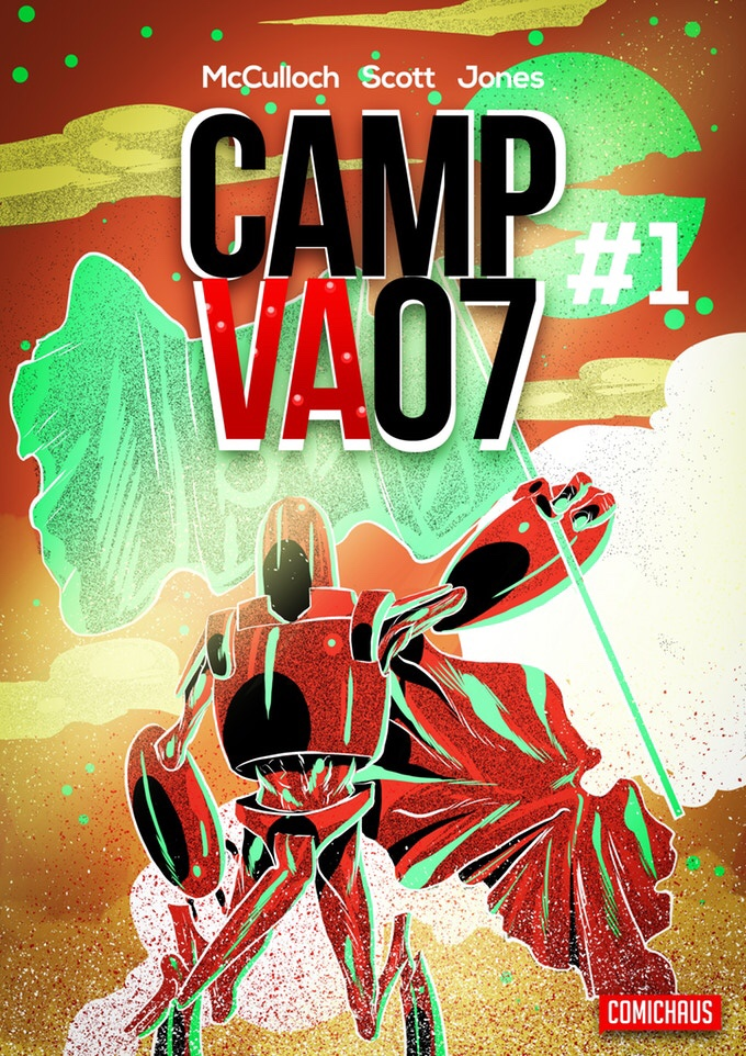 CAMP VA07 #1 Cover