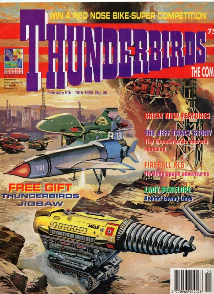 Thunderbirds - The Comic #35