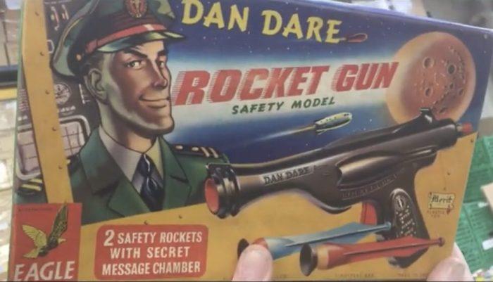 Merit UK Dan Dare Rocket Gun
