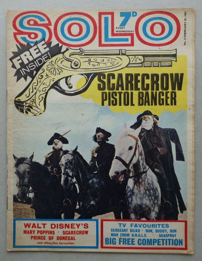 Solo #2, cover dated 25th February 1967