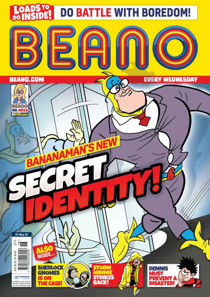 Beano 4033 - Cover