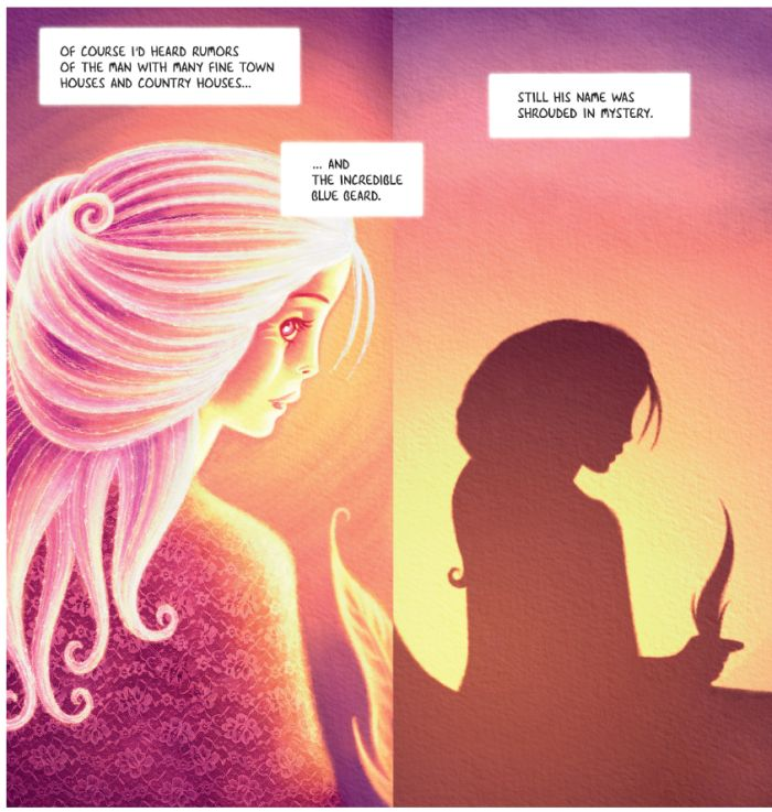 Bluebeard, a Feminist Fairy Tale By Metaphrog